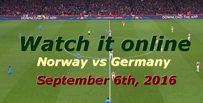 watch norway vs germany online