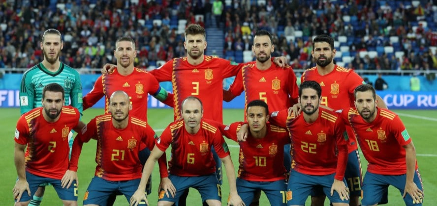 Watch Russia vs Spain online