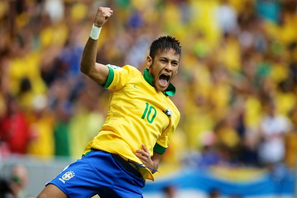 Neymar is back on track and he scored against Croatia on June 3rd